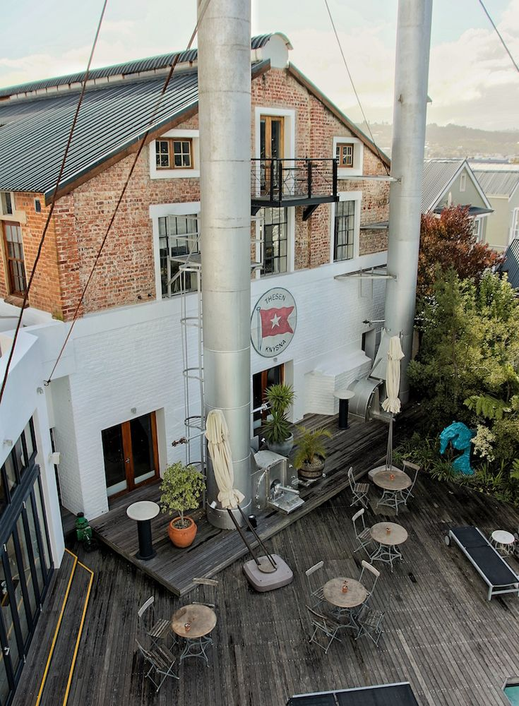 Sleeping in Knysna's old power turbine - a food, wine and travel adventure