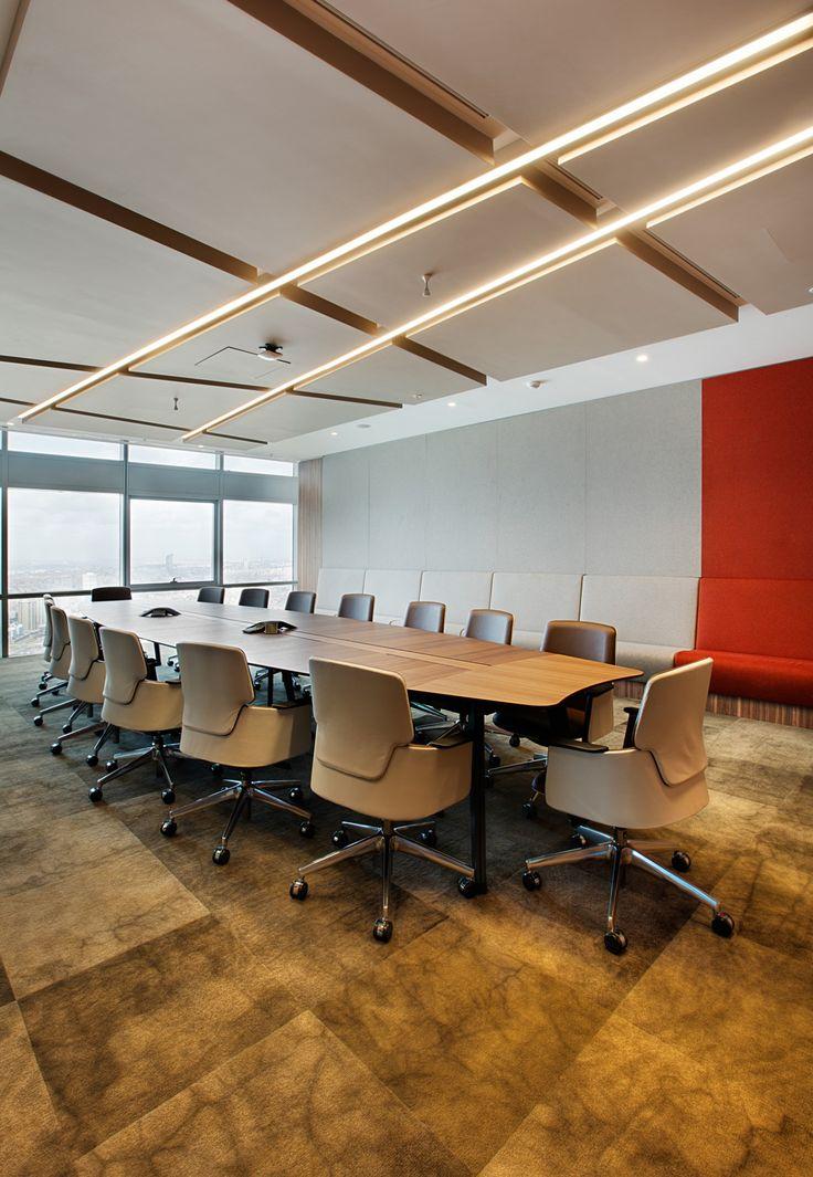 Bakırküre Architects & Bigg Working Culture Solutions, Cigna Finance & Pension Headquarters, Boardroom