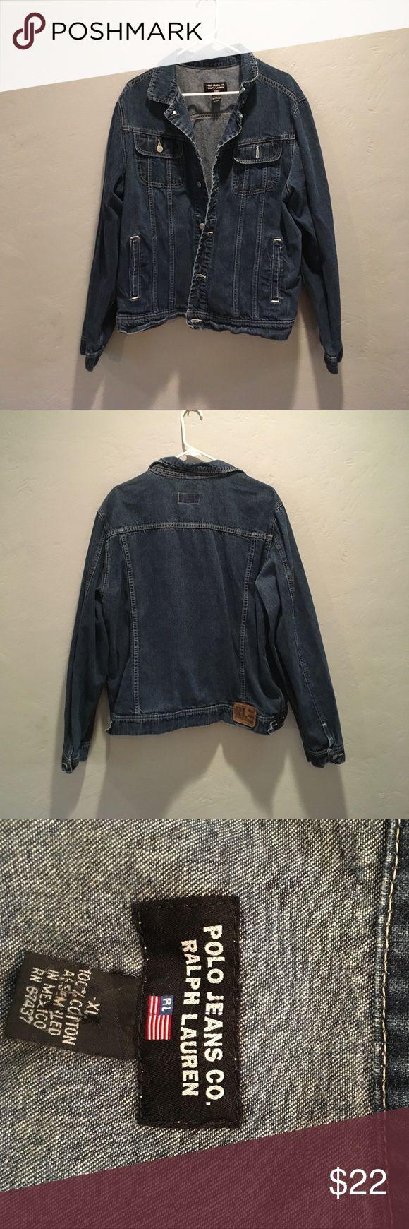 Polo Jeans Co. Ralph Lauren Denim jacket 1990's Polo Jeans Co. Ralph Lauren 100%cotton denim jacket Polo by Ralph Lauren Jackets & Coats Lightweight & Shirt Jackets
