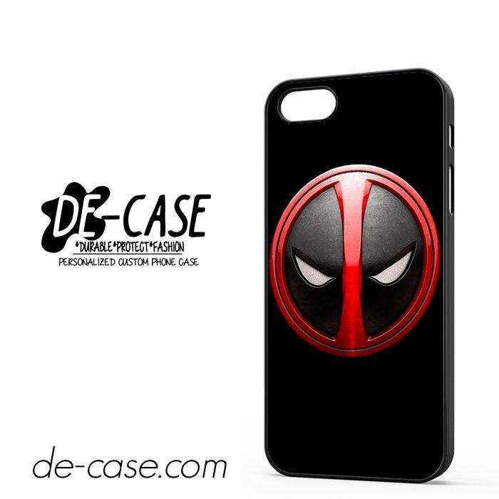 Deadpool Emblem DEAL-3096 Apple Phonecase Cover For Iphone 5 / Iphone 5S