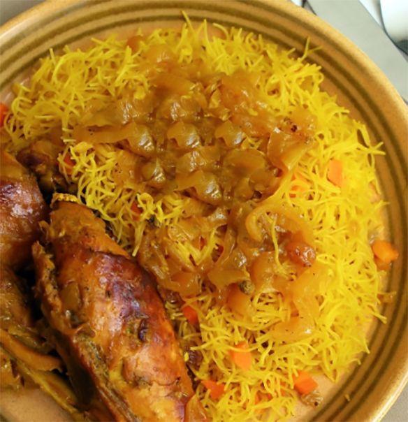 Senegalese Chicken Vermicelli Recipe Vermicelli Recipes West