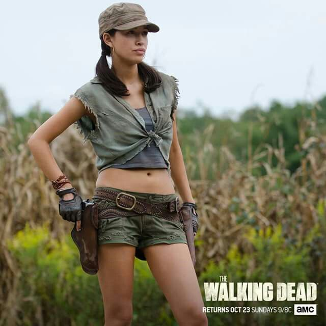 Best ROSITA ART Images On Pinterest Fan Art The Walking - Walking dead intro recut drunk people