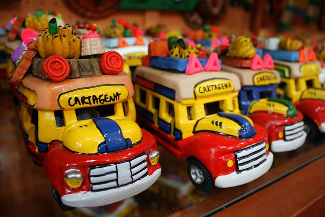 Just take a sort walk along the streets of the historic city and you can find a great variety of gifts and souvenirs to take a small piece of Cartagena with you on the road. Description from incartagenaguide.com. I searched for this on bing.com/images