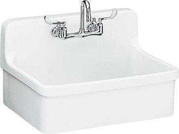Kohler Gilford Sink - traditional - kitchen sinks - Vintage Tub & Bath  Great utility sink