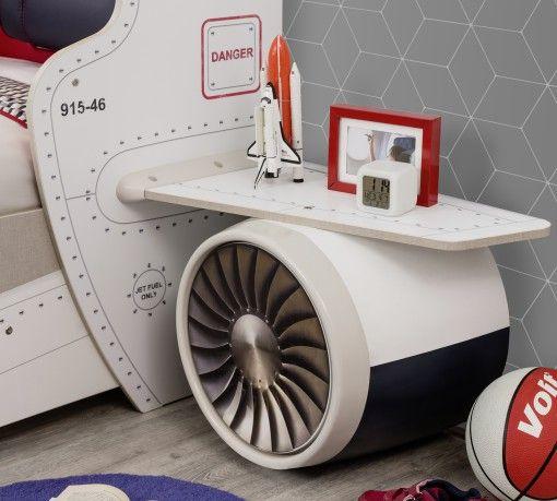 First Class – Repülős Éjjeliszekrény #gyerekbútor #bútor #desing #ifjúságibútor #cilekmagyarország #dekoráció #lakberendezés #termék #ágy #gyerekágy #repülős #airplane #firstclass #szekrény