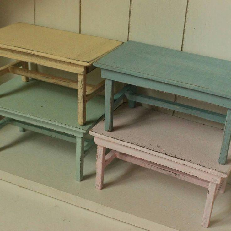 New dollhouse tables available ❤