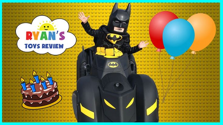cool Lego Batman Movie Surprise Happy Birthday Party! Unboxing Assembling Kids Power Wheels Car