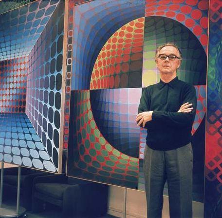 Victor Vasarely (Pécs, 9 april 1908 – Parijs, 15 maart 1997) was een Frans-Hongaars kunstenaar en een van de belangrijkste vertegenwoordigers van de op-art.