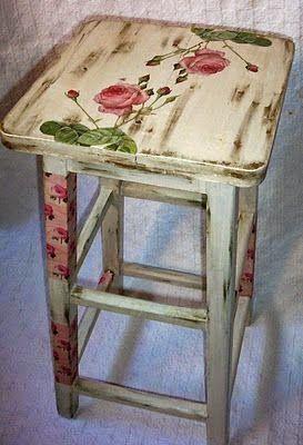 60 εξαιρετικές ιδέες για Decoupage σε καρέκλες! | Φτιάξτο μόνος σου - Κατασκευές DIY - Do it yourself