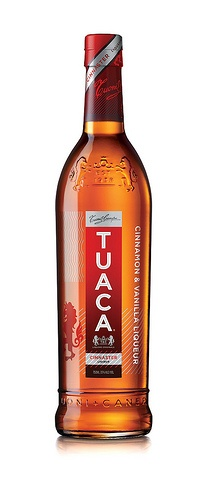 Tuaca Cinnaster.  Italian liqueur made from brandy. It is flavoured with orange essence and vanilla. he drink was created for Lorenzo the Magnificent, an Italian ruler of the Florentine Republic during the 15th century