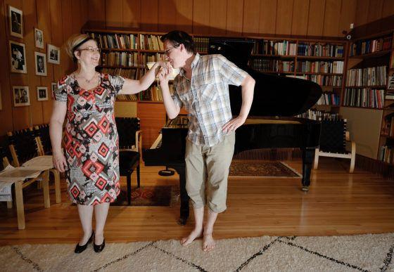 Muusikkopari palautti Villa Kokkosen musiikille