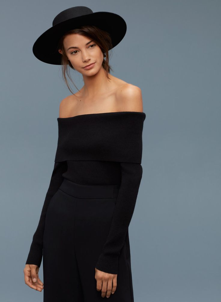 Thrilled off the shoulder tops made a resurgence.  Flattering on everyone!  Especially for those with a narrow shoulder line, this helps broaden.