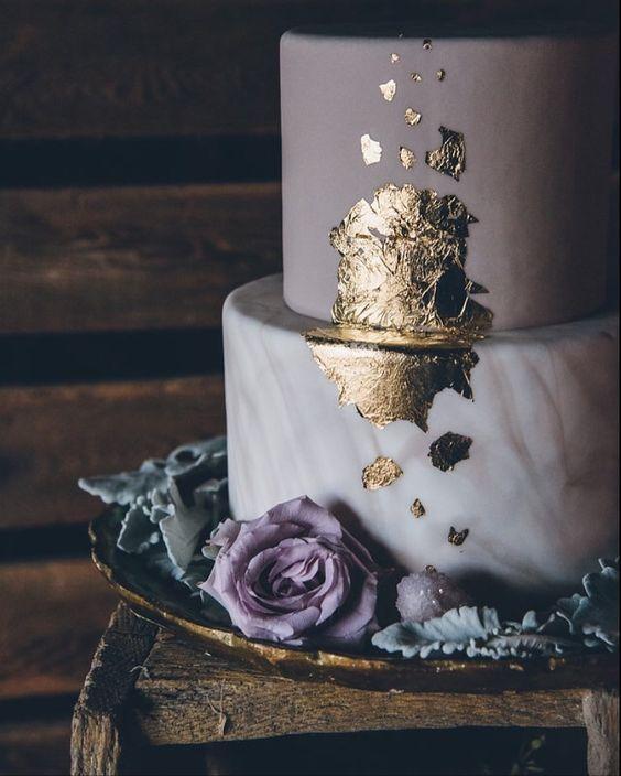 {CORES} LAVANDA/LILÁS – Once Upon a Time…a Wedding. colors lila mauve mariage casamento wedding violet lavande lilás couleurs lavender grey wedding cake gâteau mariage bolo de casamento gold doré dourado