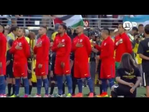 himno de chile en el partido contra argentina copa america centenario usa 2016 - http://tickets.fifanz2015.com/himno-de-chile-en-el-partido-contra-argentina-copa-america-centenario-usa-2016/ #CopaAmérica