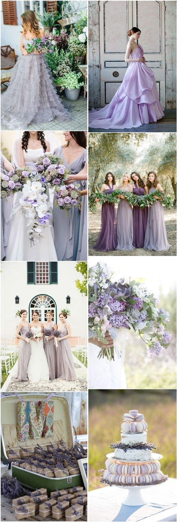 lavender wedding color ideas- purple wedding ideas and themes - Deer Pearl Flowers