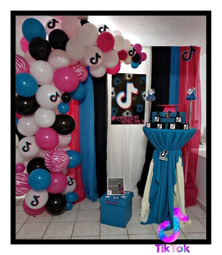 Tiktok Birthday Birthday Surprise Party Birthday Balloons Birthday Parties