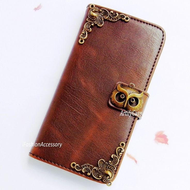Leather Zip Around Wallet - Owls 18 by VIDA VIDA 0wv0xk
