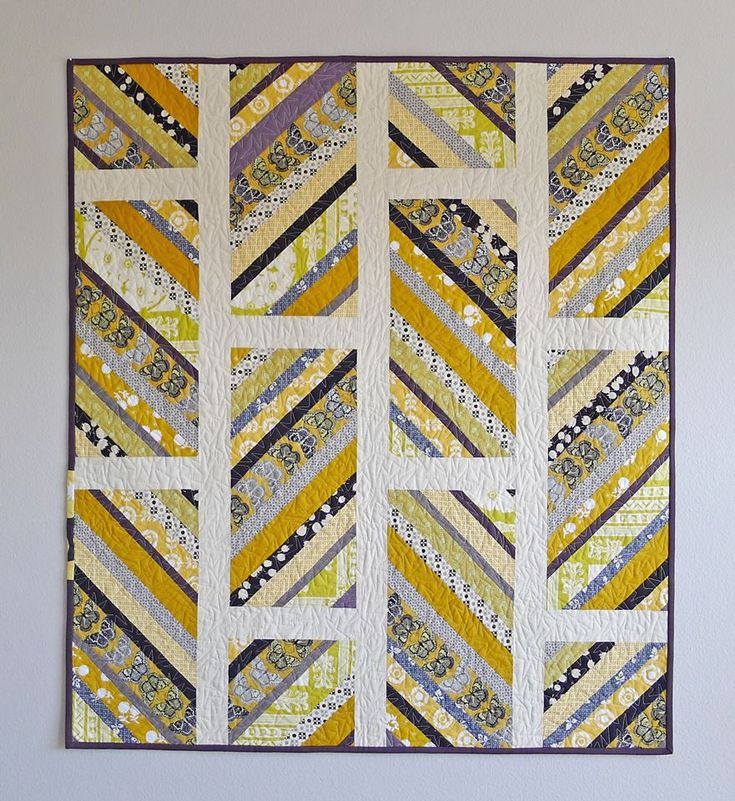 from Elizabeth Hartman strip scrap quilt