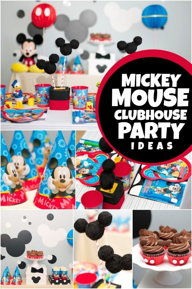 Mickey Mouse Clubhouse Birthday Party Ideas for Boys #JuniorCelebrates #CollectiveBias #Shop
