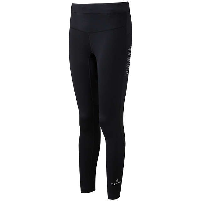 Ronhill Stride Stretch Running Tights, Black at John Lewis