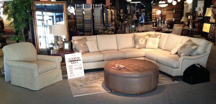 Wesley Hall Sectional Sofa Signature Elements Collection