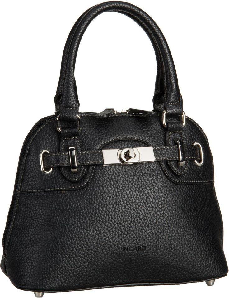 Taschenkaufhaus Picard St. Pauls 2967 Schwarz (innen: Schwarz) - Handtasche: Category: Taschen & Koffer > Handtaschen > Picard…%#Taschen%