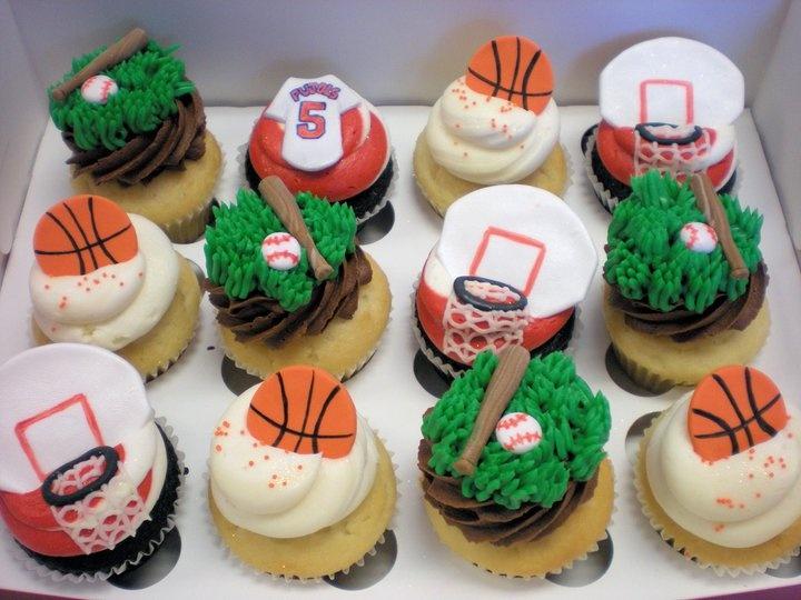 sports: Cupcake Sport, Birthday, Sports Cupcakes, Baking Cake Decorating, Cupcake Ideas, Party, Cupcakes Cake Pops, Cupcake Disorder, Cupcake Toppers
