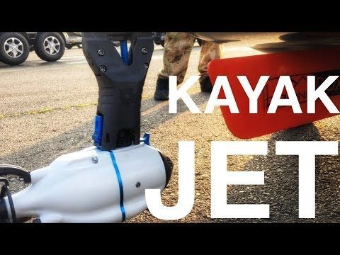Amazing Super Light And Fast Kayak Motor Bixpy Jet Water Propulsion System Youtube Electrique