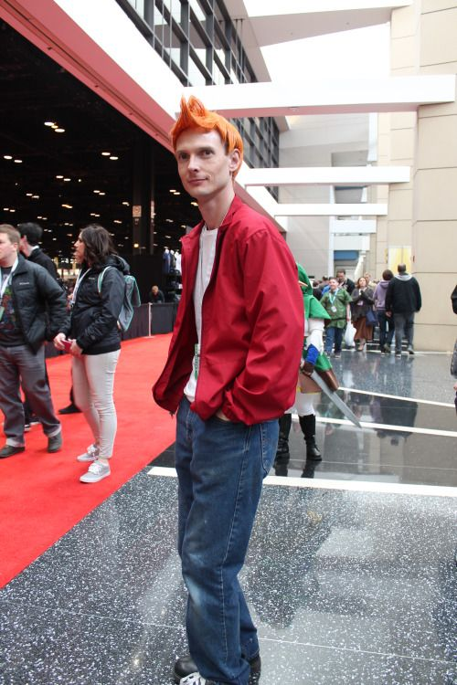 Philip j fry cosplay