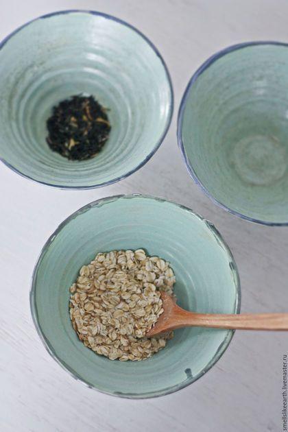 """Пиалы ручной работы. Ярмарка Мастеров - ручная работа. Купить чаши """"пепел"""". Handmade. Мятный, посуда из керамики, керамика"""