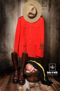 RCMP – newborn photography –