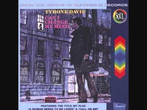 Billboard Top 100 in 1969  #62-Tyrone Davis Can I Change My Mind