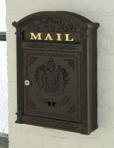 Image result for traditional large mailbox