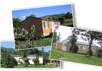 CAMPING *** PALAU DE CERDAGNE Mobile Home Chalet bungalow Promo Pyrenees Orientales Camping location proche lac Osseja
