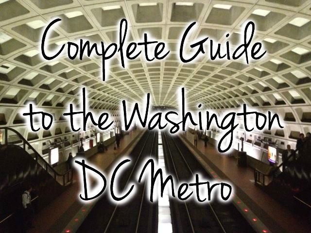 Complete Guide to the Washington DC Metro - the map, how to buy and use smartrip cards and farecards