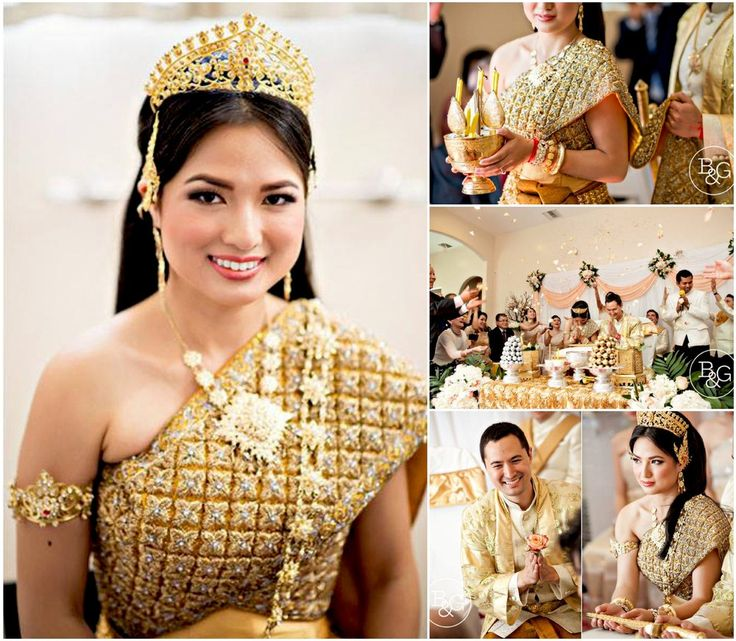 Cambodian Wedding Hairstyles: 219 Best Khmer Wedding Images On Pinterest
