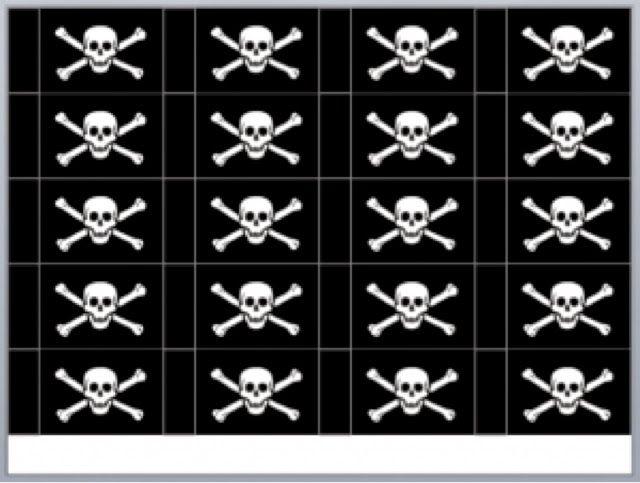 sabsy's cake dreams: Uitdeel traktatie piraat bootjes