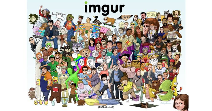 IMGUR – Lift the spirits of the world a few moments every day