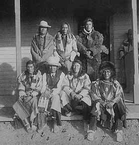 The Wichita Indians formed a loose confederation on the Southern Plains, including such tribes as Panis Piques, Taovayas, Guichitas, Tawakonis, Kichais, and Wacos, and they lived in fixed villages notable for domed-shaped and grass-covered dwellings.
