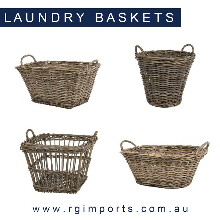Doing the washing just became a lot more appealing with our range of Laundry Baskets! Head online to view the full collection at www.rgimports.com.au