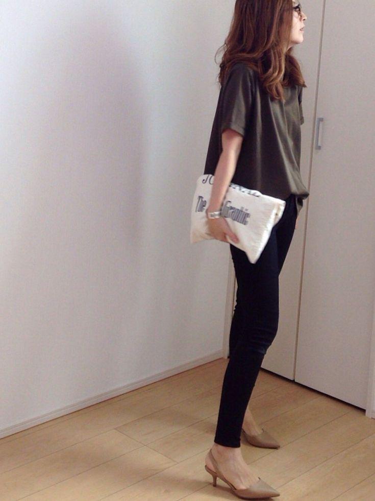 mayumi|STUDIOUSのTシャツ/カットソーを使ったコーディネート