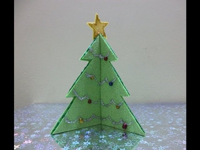 Make Your Own Christmas Tree Christmas Craft Decorations