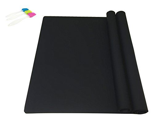 Ephome 2pack Extra Large Multipurpose Silicone Nonstick Pastry Mat
