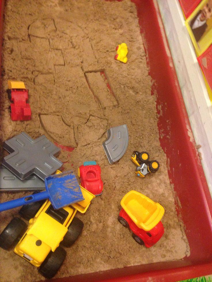 Road moulds sand