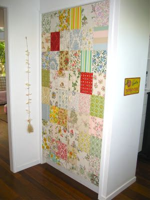 Beach Vintage: Project Day: Vintage Wallpaper Doors