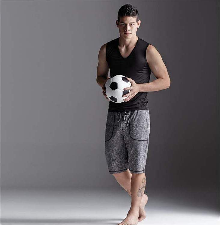 James Rodriguez models underware