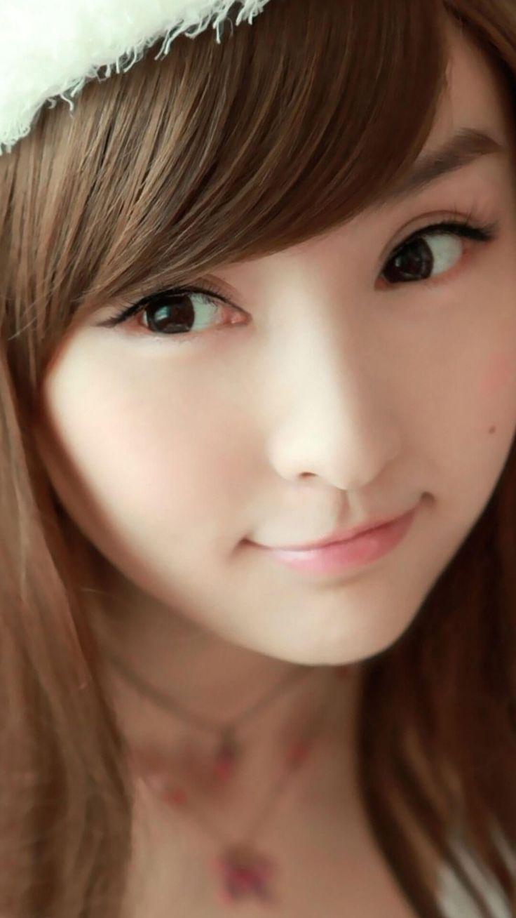 Cute Asian Girl iPhone 6 Plus Wallpaper HD