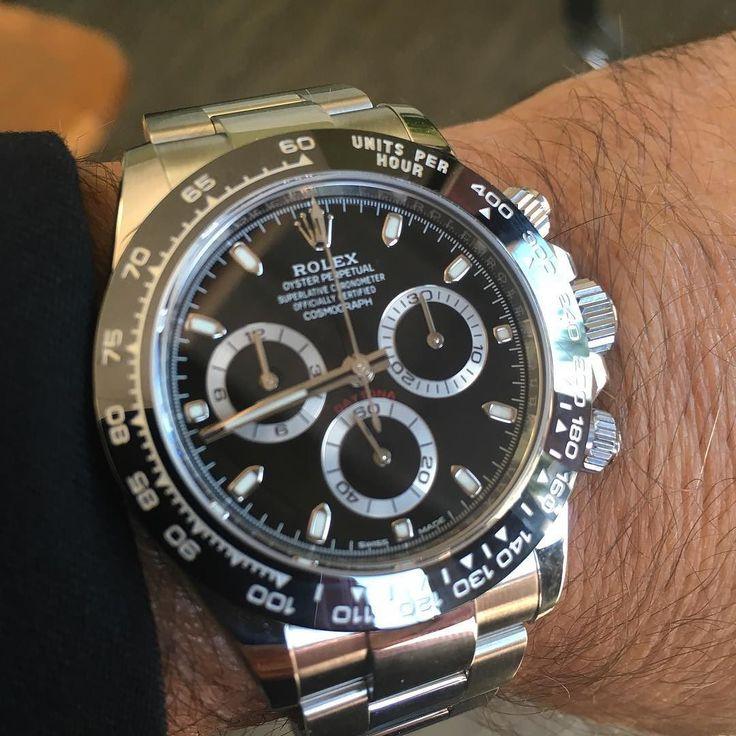 Rolex Daytona Ceramic Wrist