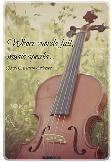 Quotes About Violinists: Music Magnet Violin Nature Quote Fiddle Photography Words