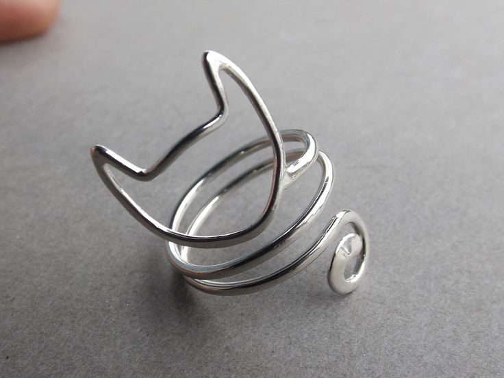 Cat Ring,Sterling Silver Cat Ring,Cat Lady Ring,Cat Jewelry,Unique Cat…
